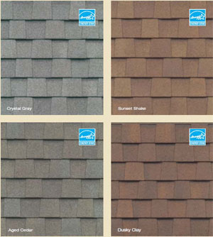 CertainTeed Asphault Shingle Samples